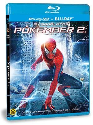 A csodálatos pókember 2. (BD3D+BD) (Blu-ray)