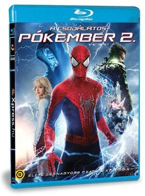 A csodálatos pókember 2. (Blu-ray)