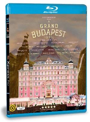 A Grand Budapest Hotel (Blu-ray)