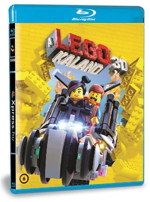 A LEGO kaland (BD3D+BD) (Blu-ray)