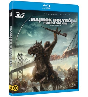 A majmok bolygója - Forradalom 3D (Blu-ray)