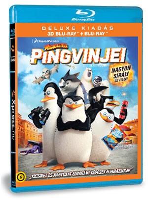 A Madagaszkár pingvinjei (BD3D + BD) (Blu-ray)