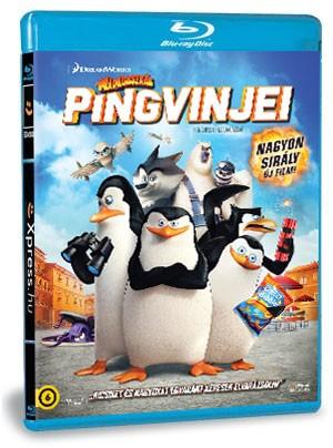A Madagaszkár pingvinjei (Blu-ray)