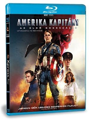 Amerika Kapitány: Az első bosszúálló (Blu-ray)