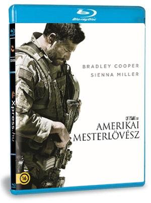 Amerikai mesterlövész (Blu-ray)