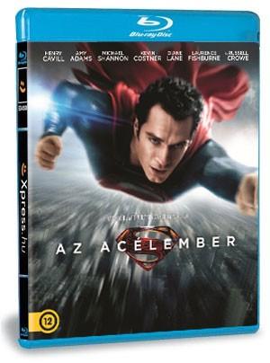 Az acélember (Blu-ray) 3D