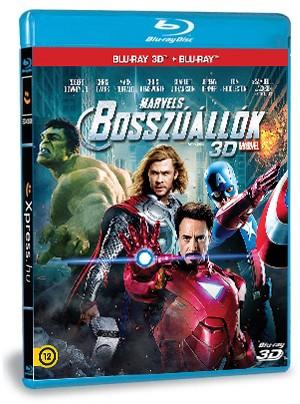 Bosszúállók 2D 3D (Blu-ray)