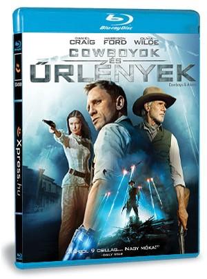 Cowboyok és űrlények (Blu-ray)