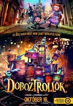 Doboztrollok (BD3D/BD) (Blu-ray)