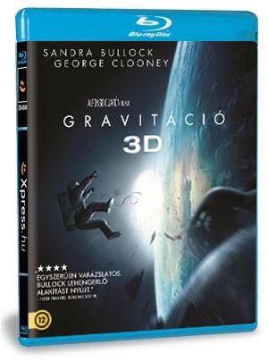 Gravitáció (BD3D+BD) (Blu-ray)