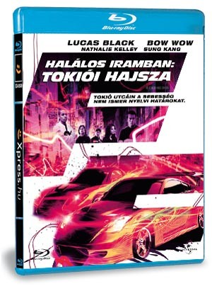 Halálos iramban: Tokiói hajsza (Blu-ray)
