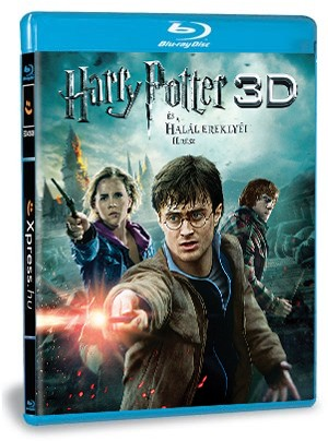 Harry Potter és a Halál Ereklyéi - 2 rész 3D (Blu-ray)
