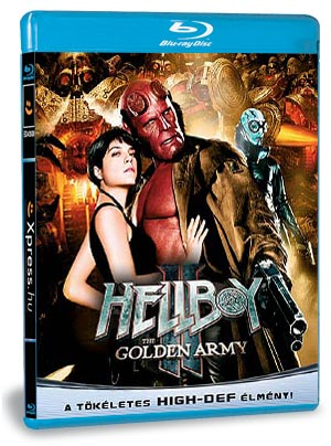Hellboy 2. - Az Aranyhadsereg (Blu-ray)
