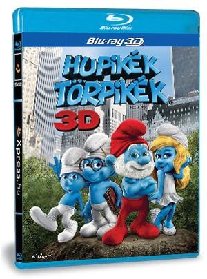 Hupikék törpikék 3D (Blu-ray)