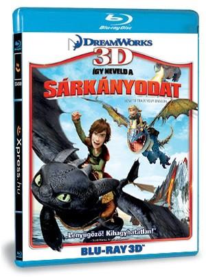 Így neveld a sárkányodat 3D (Blu-ray)