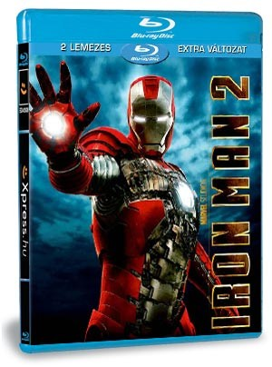 Iron Man - A vasember 2 (Blu-ray)