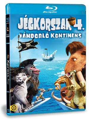 Jégkorszak 4. - Vándorló kontinens (Blu-ray)