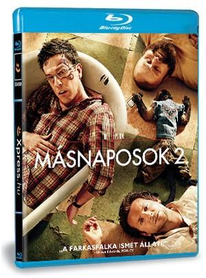 Másnaposok 2 (Blu-ray)