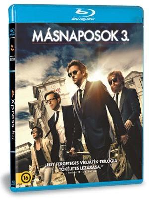 Másnaposok 3. (Blu-ray)