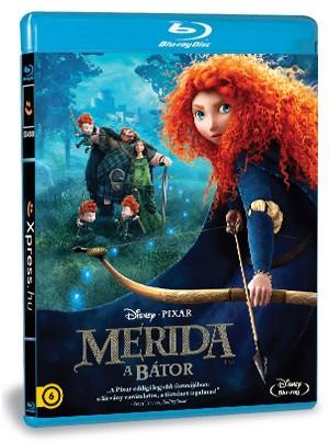 Merida, a bátor 3D (Blu-ray)