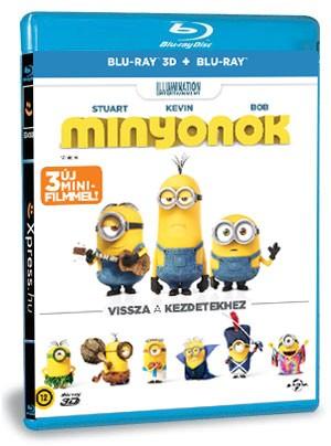 Minyonok (BD3D+BD) (Blu-ray)