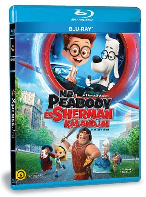 Mr. Peabody és Sherman kalandjai (Blu-ray)
