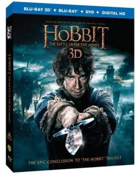 A hobbit: Az öt sereg csatája (Blu-ray 3D)
