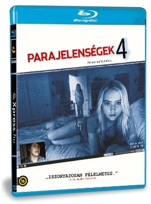Parajelenségek 4. (Blu-ray)