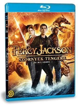 Percy Jackson: Szörnyek tengere (Blu-ray) 3D