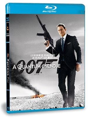 A Quantum csendje (Blu-ray)