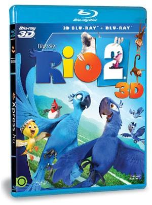 Rio 2. (BD3D+BD) (Blu-ray)
