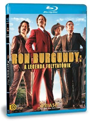Ron Burgundy: A legenda folytatódik (Blu-ray)