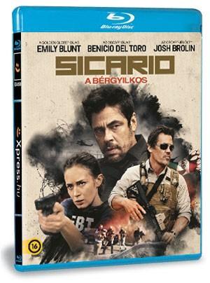 Sicario: A bérgyilkos (Blu-ray)