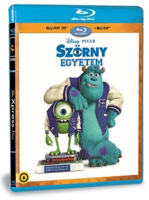 Szörny Egyetem (BD3D+BD) (Blu-ray)
