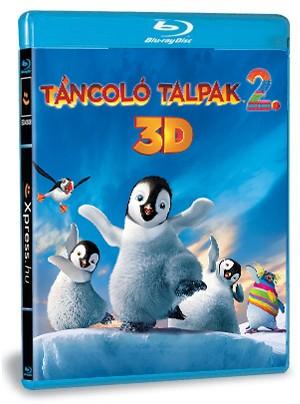 Táncoló talpak 2 (Blu-ray) 3D