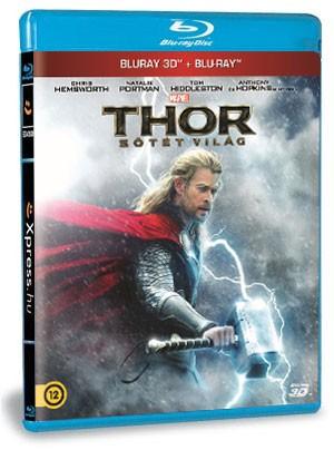 Thor: Sötét világ (BD3D+BD) (Blu-ray)