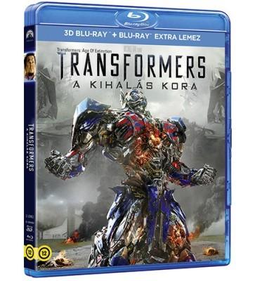 Transformers: A kihalás kora 3D (Blu-ray)