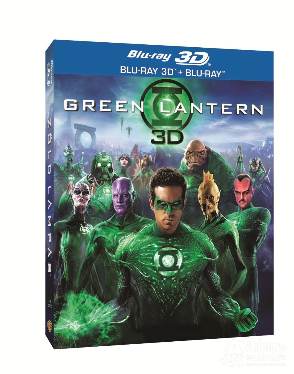 Zöld Lámpás (Blu-ray 3D)